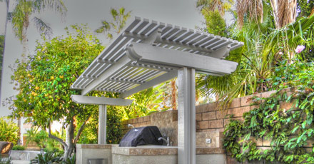 California Lattice Patio Cover